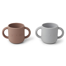 Achat Tasse & Verre Lot de 2 Tasses Gene Cat - Dumbo Grey