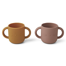 Achat Tasse & Verre Lot de 2 Tasses Gene Cat - Dark Rose