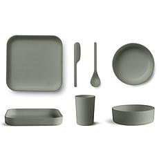 Achat Coffret repas Coffret de Vaisselle 5 Pièces Bamboo Aiko - Faune Green
