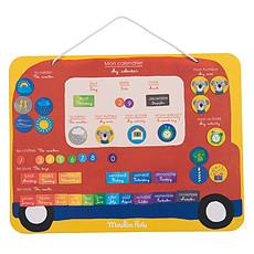 Achat Mes premiers jouets Calendrier Magnétique - Les Popipop