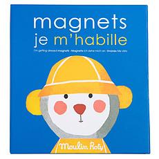 Achat Mes premiers jouets Jeu Magnétique Je m'Habille - Les Popipop