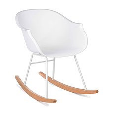 Achat Table & Chaise Rocking Chair Jazzy - Blanc