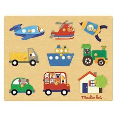 Achat Mes premiers jouets Puzzle Les Transports - Les Popipop