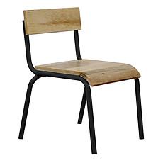 Achat Table & Chaise Chaise d'Écolier - Noir
