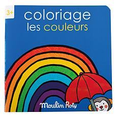 Achat Livre & Carte Cahier de Coloriage Les Couleurs - Les Popipop