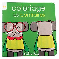 Achat Livre & Carte Cahier de Coloriage Les Contraires - Les Popipop