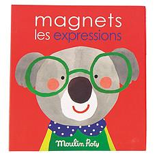 Achat Mes premiers jouets Jeu Magnétique Les Expressions - Les Popipop