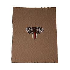 Achat Linge de lit Couverture Tricot pour Lit - Eléphant