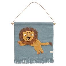 Achat Objet décoration Tapis Mural Jumping Lion