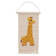 Achat Objet décoration Tapis Mural Girafe