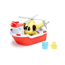 Achat Mes premiers jouets Jeu de Bain Bateau de Sauvetage et Hélicoptère