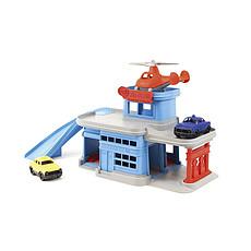 Achat Mes premiers jouets Garage Hélicoptère et ses 2 véhicules