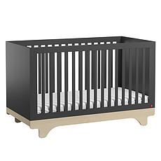Achat Lit bébé Lit Bébé Evolutif Playwood Graphite et Bois - 70 x 140 cm
