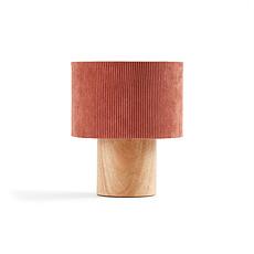Achat Lampe à poser Lampe à Poser Velours - Rouille