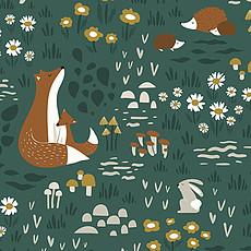 Achat Papier peint Papier Peint - Motif Animaux de la Forêt