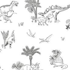 Achat Papier peint Papier Peint - Motif Dinosaures