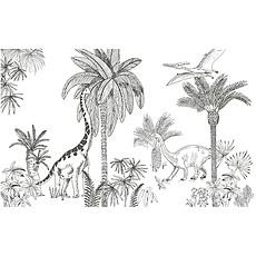 Achat Papier peint Fresque - Dinosaures