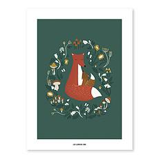 Achat Affiche & poster Affiche Animaux de la Forêt