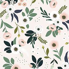 Achat Papier peint Papier Peint - Motif Un Si Joli Bouquet