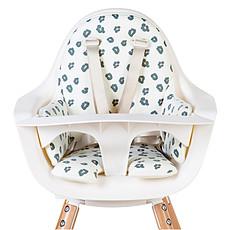 Achat Chaise haute Coussin de Chaise Haute Jersey - Leopard