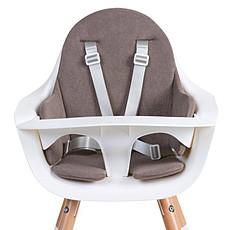 Achat Chaise haute Coussin de Chaise Haute Eponge - Warm Grey