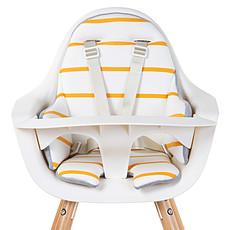 Achat Chaise haute Coussin de Chaise Haute Jersey - Ochre Stripes