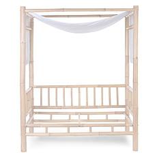 Achat Lit bébé Toile de Lit Bambou - Blanc Cassé