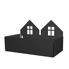 Achat Étagère Etagère Maison Duo - Noir