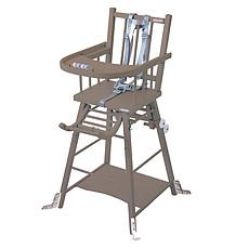 Achat Chaise haute Chaise Haute à Barreaux Transformable Marcel - Taupe
