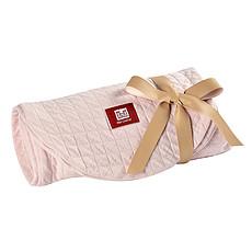 Achat Coussin allaitement Housse Big Flopsy Fleur de Coton - Rose Dragée