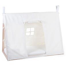 Achat Lit bébé Toile Lit Bébé Tipi Blanc - 70 x 140 cm