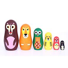 Achat Mes premiers jouets Poupées Russes Matriochka - Animaux