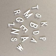 Achat Objet décoration Kit de Lettres Blanches 1.9 cm