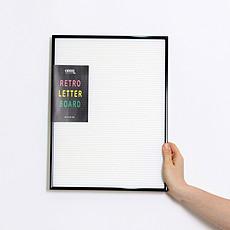 Achat Objet décoration Tableau à Messages - Blanc avec Cadre Noir