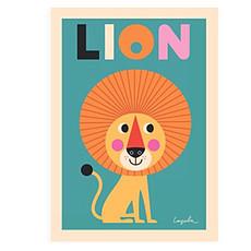 Achat Affiche & poster Affiche Lion par Ingela P. Arrhenius