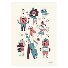 Achat Affiche & poster Affiche L'Orchestre par Ingela P. Arrhenius