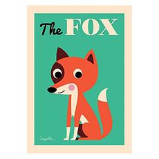 Achat Affiche & poster Affiche The Fox par Ingela P. Arrhenius