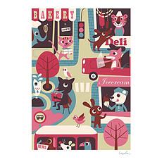 Achat Affiche & poster Affiche La Ville par Ingela P. Arrhenius