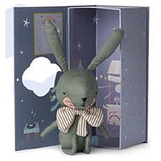 Achat Peluche Lapin Vert + Boîte Cadeau