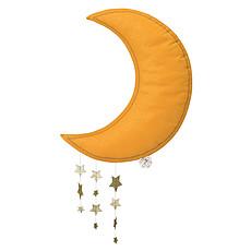 Achat Mobile Lune avec Etoiles - Jaune