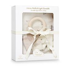 Achat Lange Pack Cadeau avec Hochet et Lange - Fawn