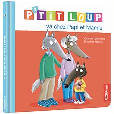 Achat Livre & Carte P'tit Loup va chez Papi et Mamie