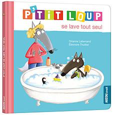 Achat Livre & Carte P'tit Loup se lave tout seul