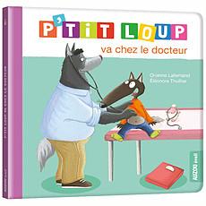 Achat Livre & Carte P'tit Loup va chez le docteur
