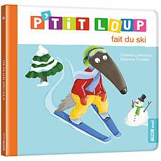 Achat Livre & Carte P'tit Loup fait du ski
