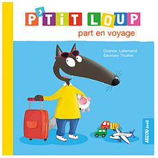 Achat Livre & Carte P'tit Loup part en voyage