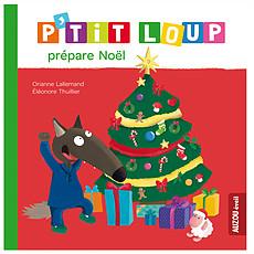 Achat Livre & Carte P'tit Loup prépare Noël