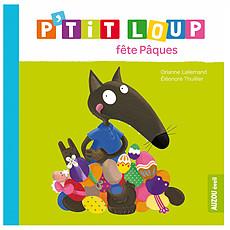 Achat Livre & Carte P'tit Loup fête Pâques