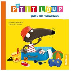 Achat Livre & Carte P'tit Loup part en vacances