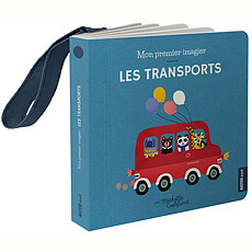Achat Accessoires poussette Mon Premier Imagier Accroche-Poussette - Les Transports